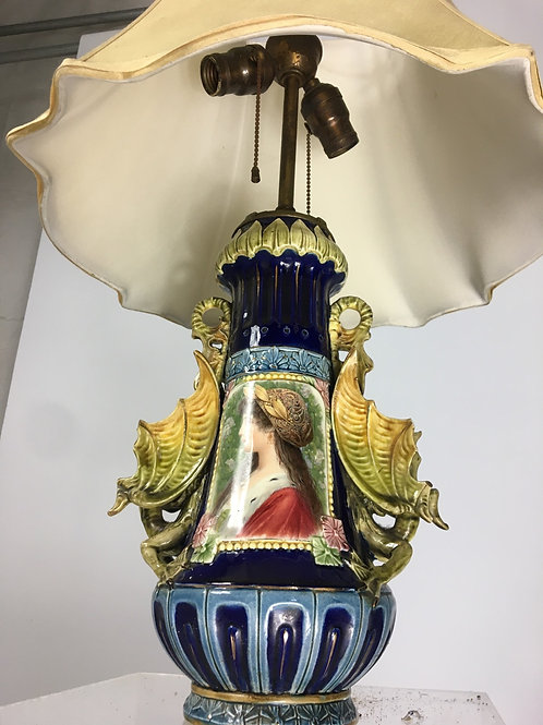 Lady of dragons lamp