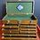 "Thumbnail: Nice Gerstner & Sons 20"" Golden Oak 7-Drawer Machinist Tool Chest Box Toolbox"