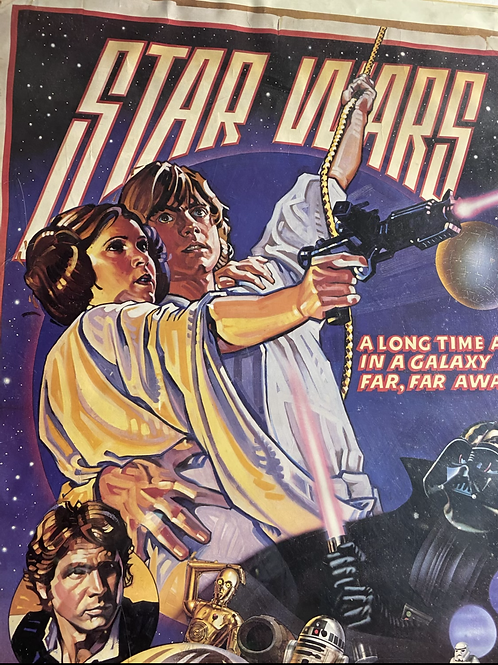 Star Wars first edition poster 1978