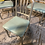 Thumbnail: (5) Light teal WorkShop chairs