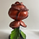 Thumbnail: Hand carved rose candle holder