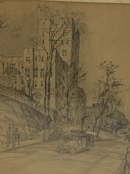 102  year old West Point military academy drawing