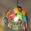 Thumbnail: Stainedglass chandelier