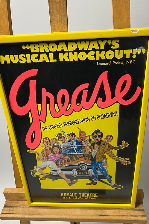 Grease Play poster
