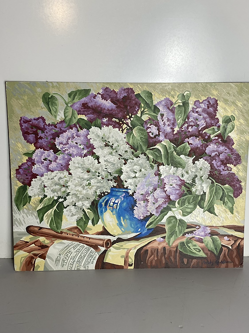 Flowers (paint by number)