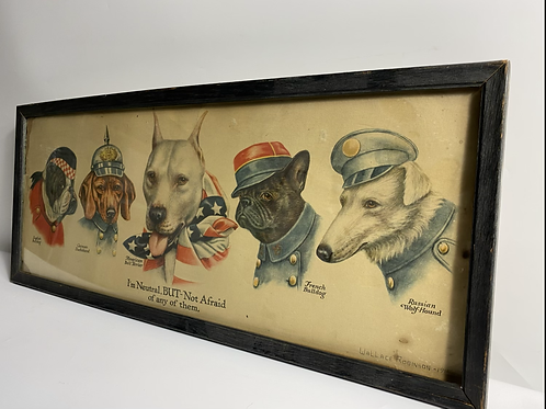 National dogs Wallace Robinson 1915
