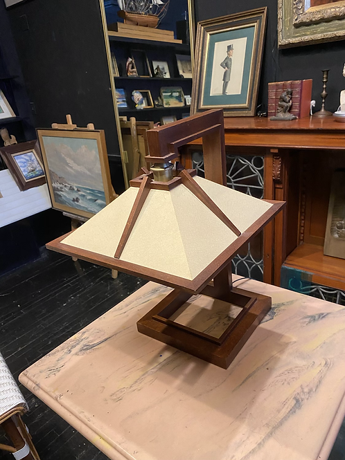 Vintage Authentic Frank Lloyd Wright Taliesin Table Lamp, by Yamagiwa