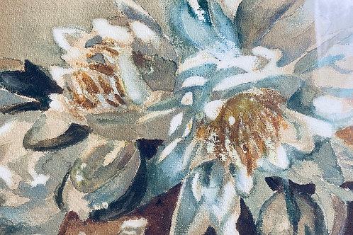 Magnolia Arrangement in Vase