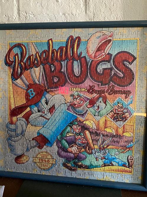 Baseball bugs jigsaw puzzle