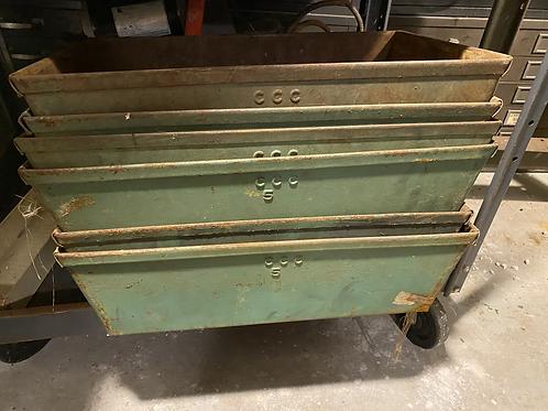 Rustic Metal boxes
