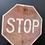 Thumbnail: Vintage stop sign