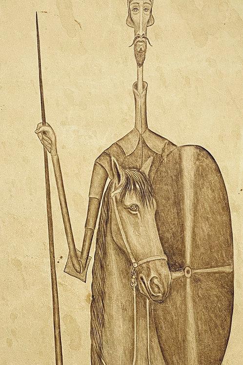 "don quixote and sancho panza ""Riding with the Don"" by Alberto Cruz"