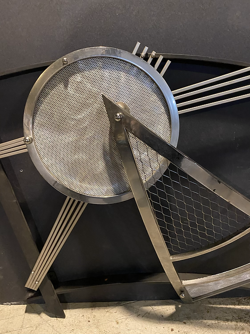 "LARGE JEFF MEHRINGER ""ECLIPSE"" WALL SCULPTURE"