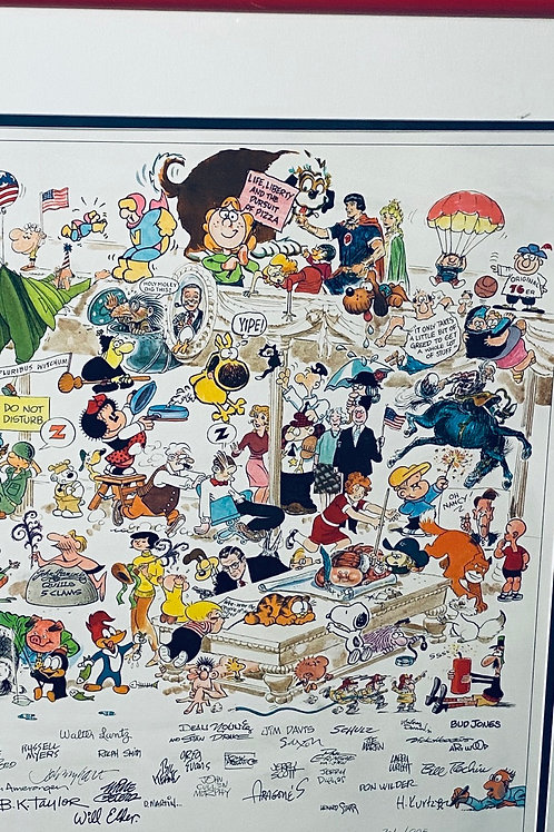 "Cartoon constitution ""A cartoon celebration of America"""