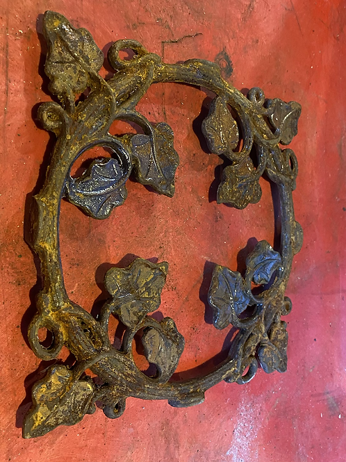 Rustic floral object 2