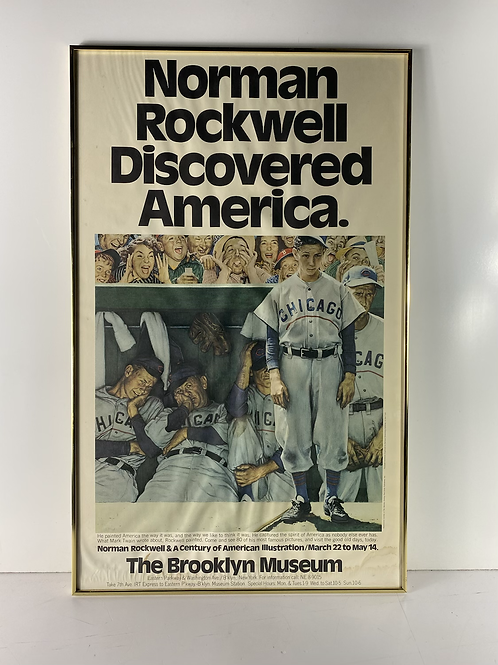 Norman Rockwell  discovered American