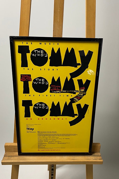 Tommy the musical poster