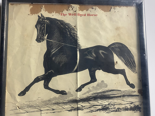 Plow boy Vintage stud poster
