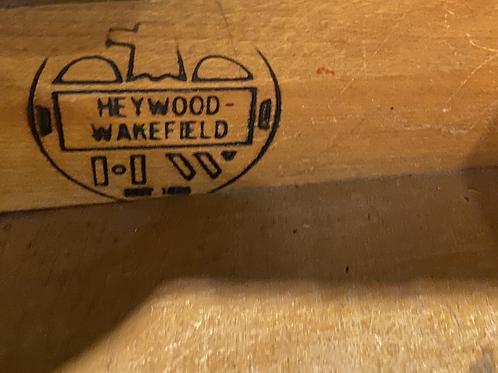 Vintage Heywood Wakefield Partner Desk