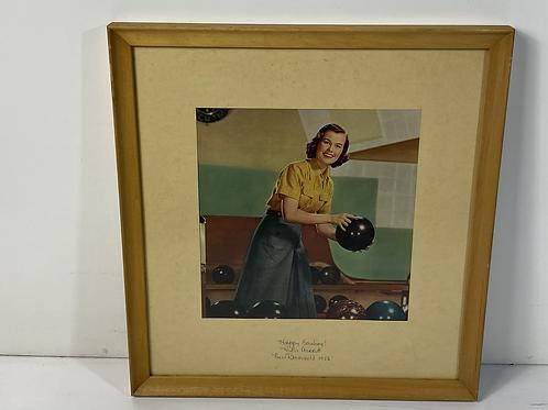 Miss Rheingold 1956 print.
