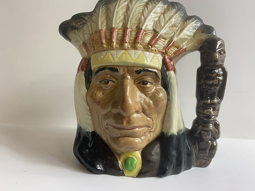 Native American watering pitcher