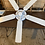 Thumbnail: White Ceiling Fan with pull string