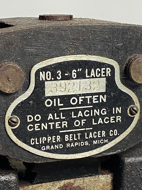 Antique Clipper Belt Lacer Co. (The Ant)