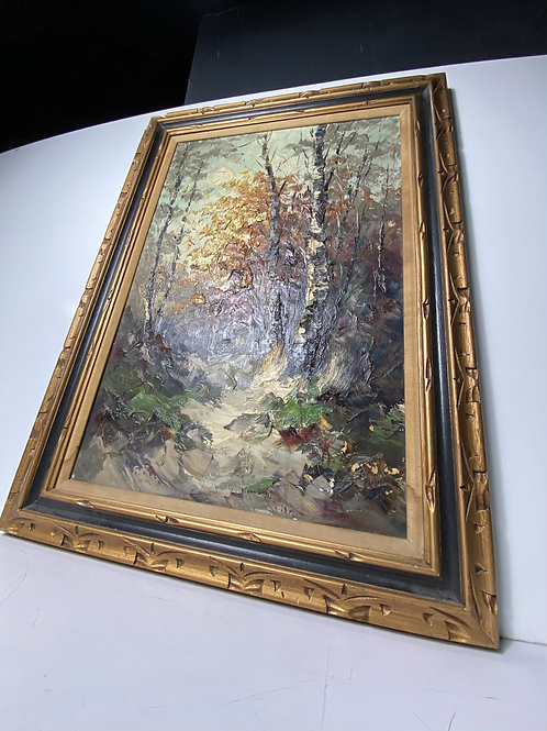 Fall Forest  (Oil painting)