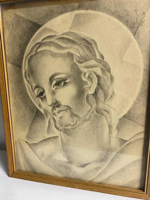 Mary & Jesus (set of 2) pencil