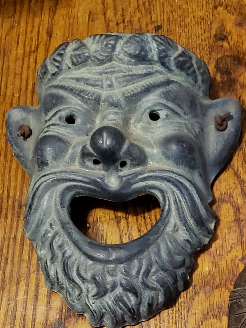 Terracotta mask made in Greece