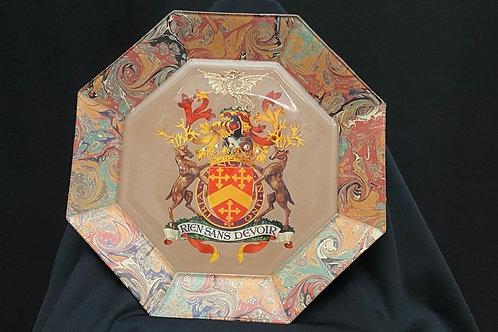 Art dinner Plates by Lois Silverman