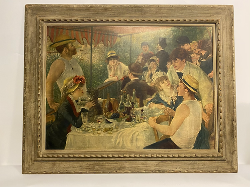 Luncheon of the Boating Party by Pierre-Auguste Renoir