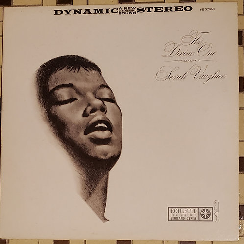 """Vintage 1960 """"The Divine One"""", """"Sassy"""" and """"Sarah Vaughan After Hours..."""" albums"""