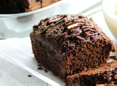 Cake au chocolat bon et sain