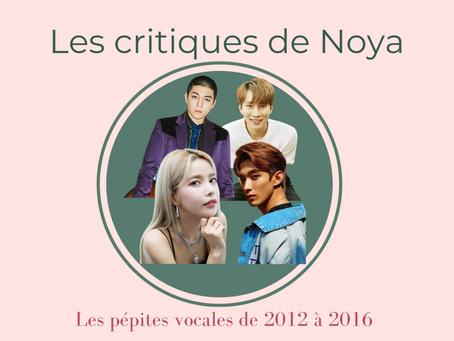 Les pépites vocales de la musique coréenne - Partie VI : 2012 - 2016
