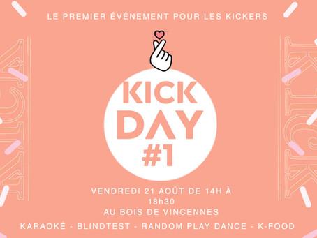 Kick Day #1 - Le premier événement de kpop à Paris pour les Kickers