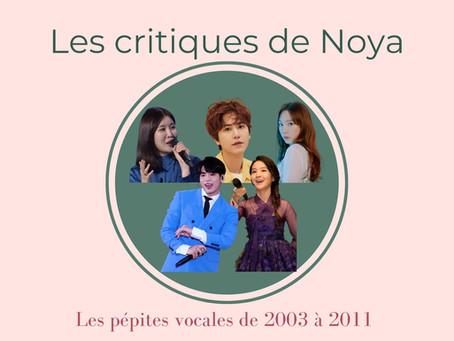 Les pépites vocales de la musique coréenne - Partie III : 2003 - 2011