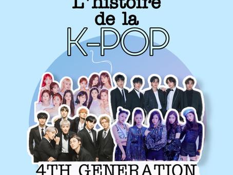 L'histoire de la kpop - Partie VI : 4ème génération 2017 à aujourd'hui