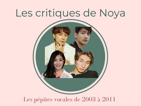 Les pépites vocales de la musique coréenne - Partie IV : 2003 - 2011