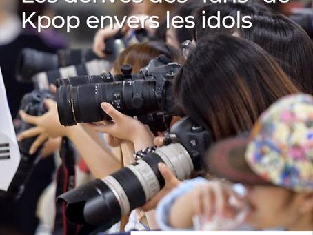 """Les dérives des """"fans"""" de K-Pop envers les idols (Pt.1)"""