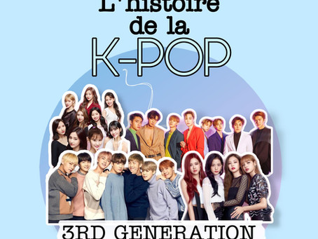 L'histoire de la kpop - Partie V : 3ème génération 2015 à 2016