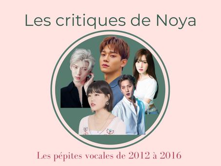Les pépites vocales de la musique coréenne - Partie V : 2012 - 2016