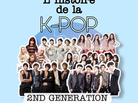 L'histoire de la kpop - Partie II : 2ème génération 2003 à 2007
