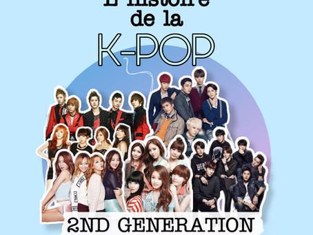 L'histoire de la kpop - Partie III : 2ème génération 2008 à 2011