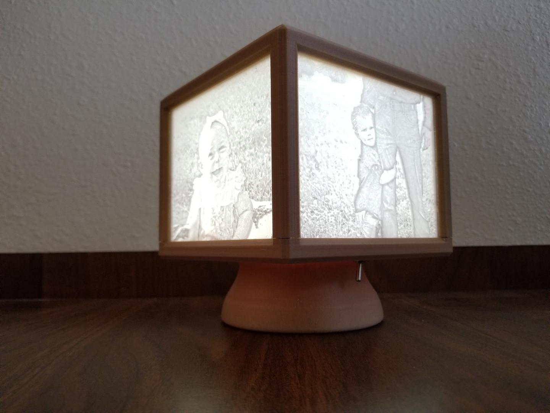 Lithopane Lamp