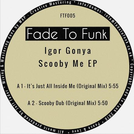 Igor Gonya - Scooby Me EP