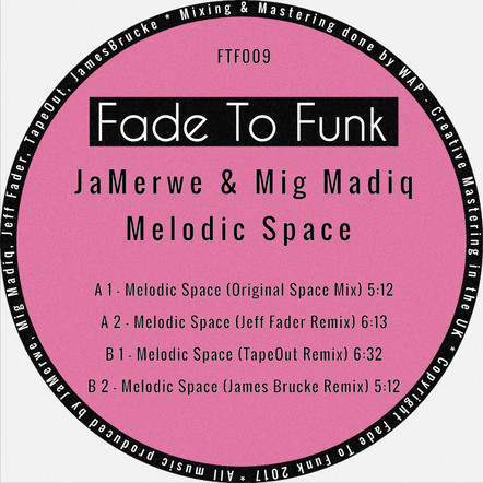 JaMerwe & Mig Madiq - Melodic Space