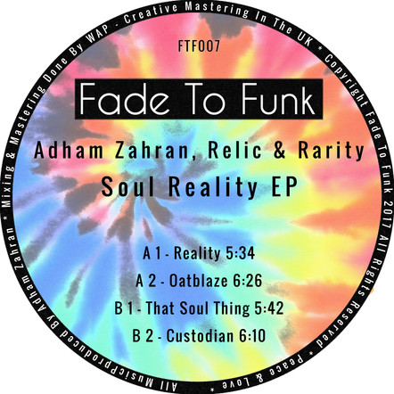 Adham Zahran, Relic & Rarity - Soul Reality EP