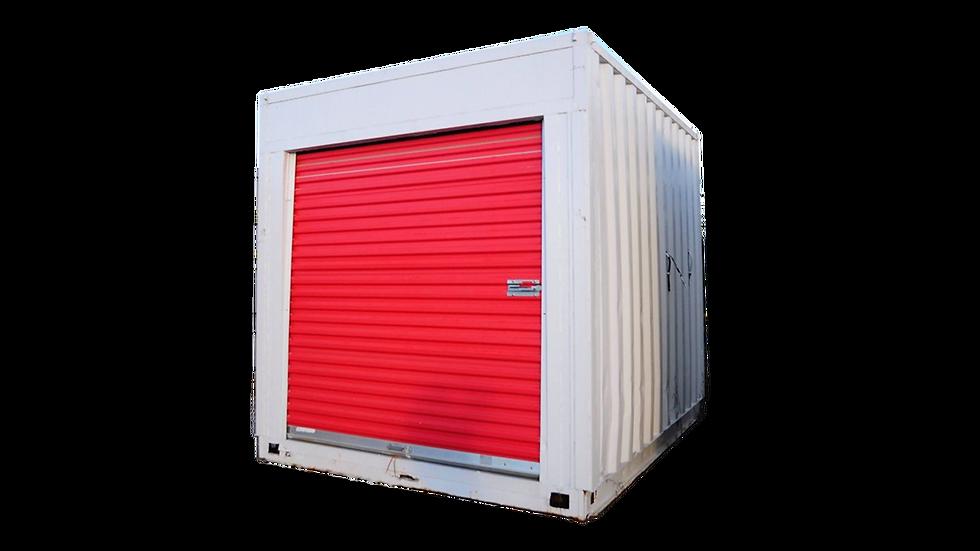 10' Roll Up Door Container