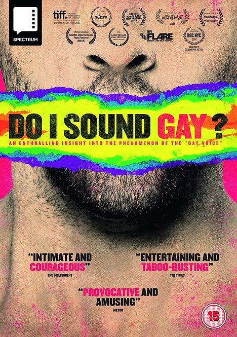 Do I Sound Gay?